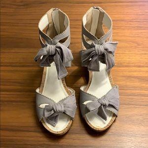 Jill Stuart grey sandals from Japan